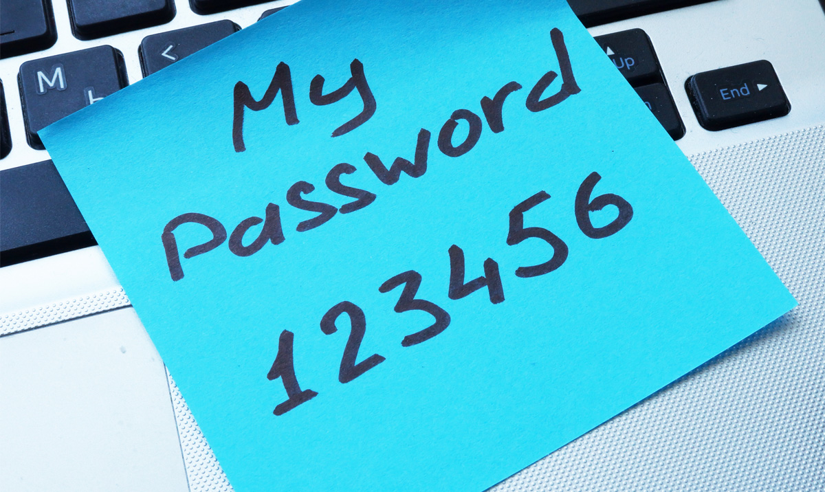 Weak Passwords Expose Client Data